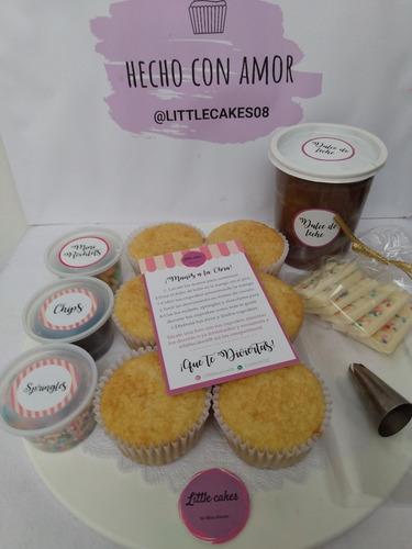 caja para decorar cupcakes