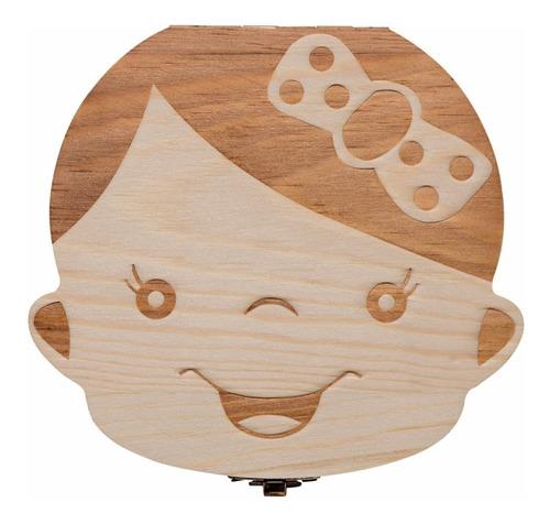 caja para dientes bebé niña