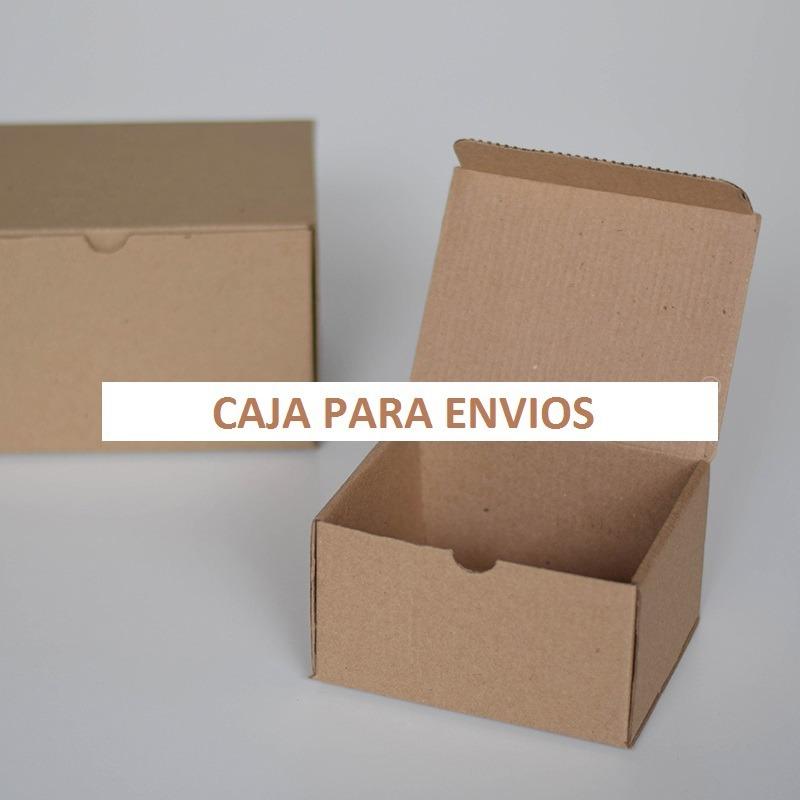 Caja Para Envios Chica Caja De Carton Kraft Paq Con 50 Pz 51000