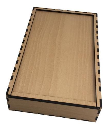 caja para fotos y pendrive - portapendrive - caja fotografi