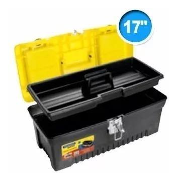 caja para herramientas plastica 17  hebilla metálica c60