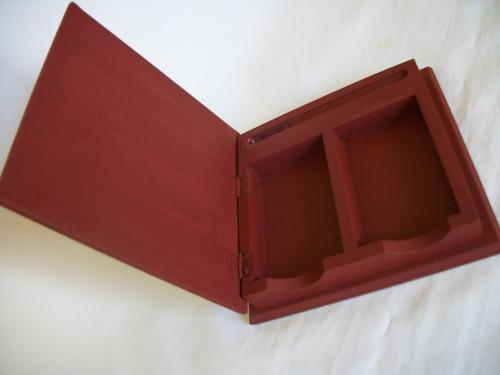 caja para, naipes, barajas  ( para guardar ) impecable
