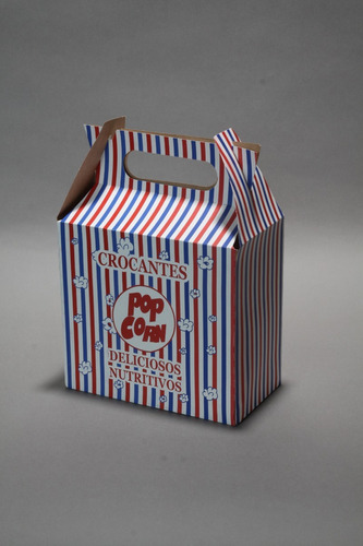 caja para pochoclo
