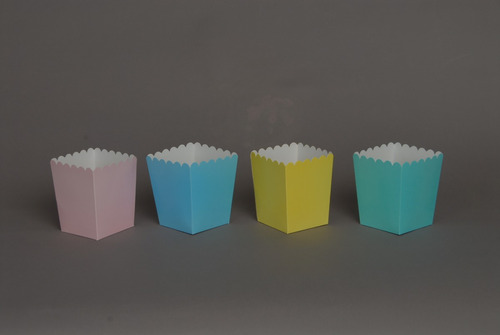 caja para pochoclo - pochoclera (pack x100) tamaño grande!