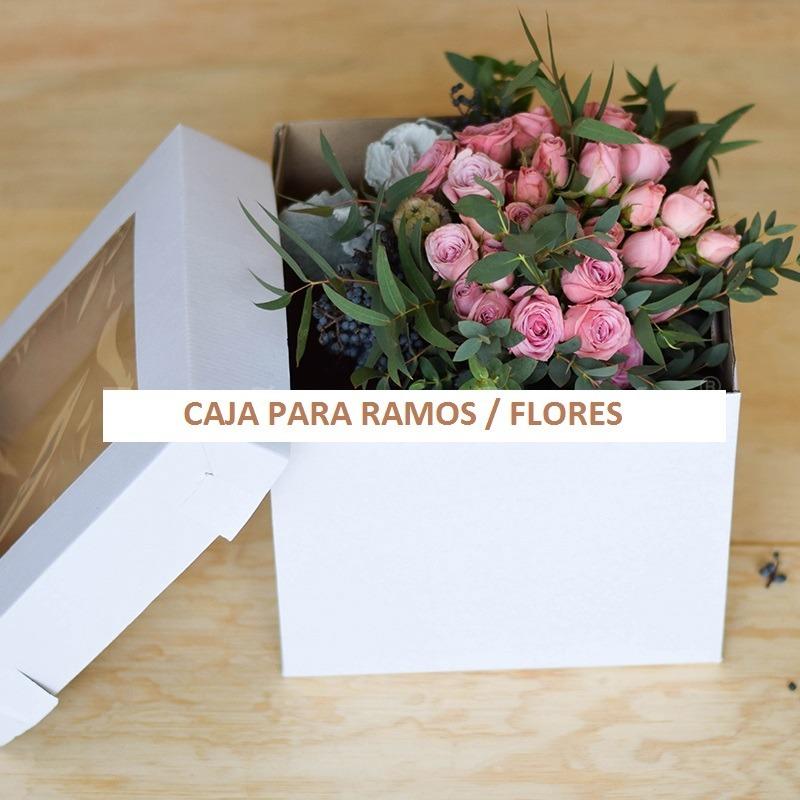 Caja Para Ramo Caja Para Flores Caja Para Xv Anos 10 Pzas 590 00