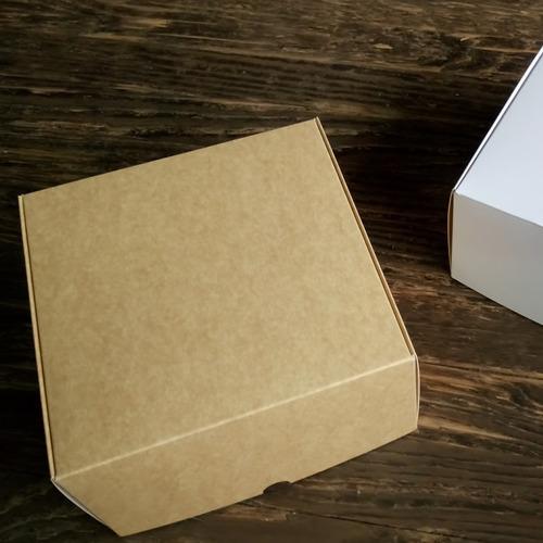 caja para regalos 22x22x11,5 cm pack x10 unidades