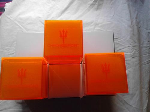 caja para reloj chronosport