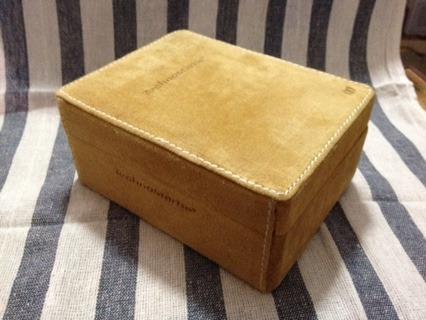 caja para reloj technomarine original.