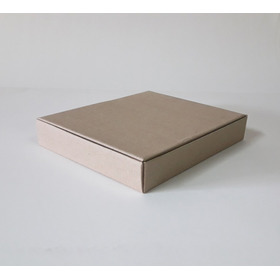 Caja Para Ropa  Cartulina Blanca O Kraft  Pack X 25 U