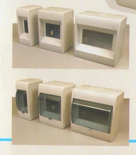 caja para térmica - 4 módulos con puerta kalop - din embutir