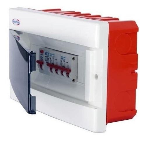 caja para termicas conextube embutir 8 bocas  elect.av