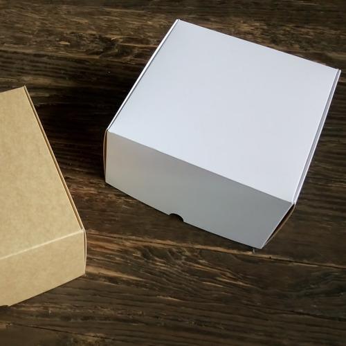 caja para tortas 22 x 22 x 11,5 cm