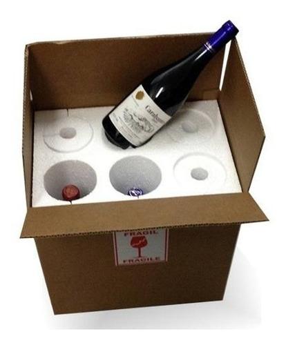 caja para trasladar vinos