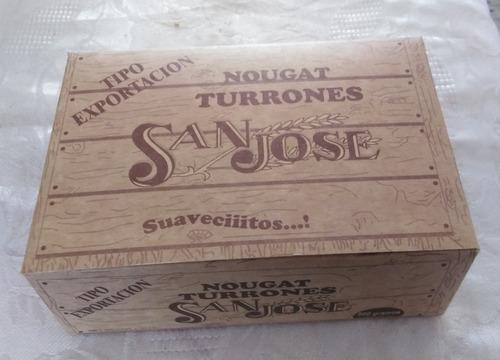caja para turron de doña pepa, personalizadas delivery peru