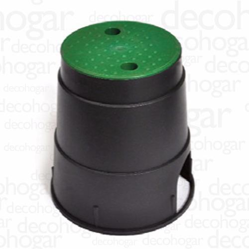 caja para valvulas hunter rainbird riego circular mini 21x23