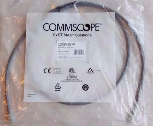 caja patch cord systimax cat 6a de 10 pies (3 mts) x 50