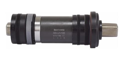 caja pedalera shimano bb-un100 34,7 x  122.5 68 mm