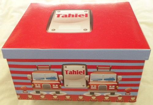 caja personalizada - ajuares, recuerdos, bebés
