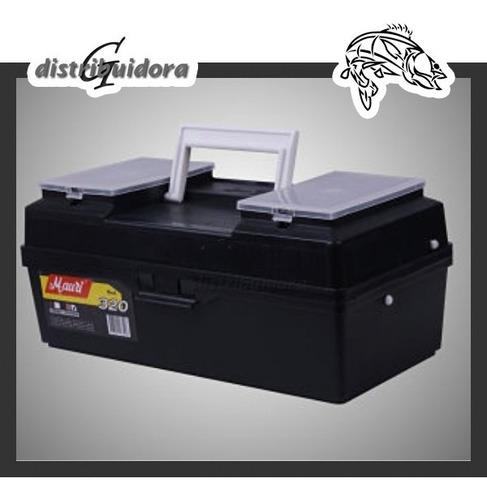 caja  pesca mauri 320 1 bandeja. ideal primer caja!