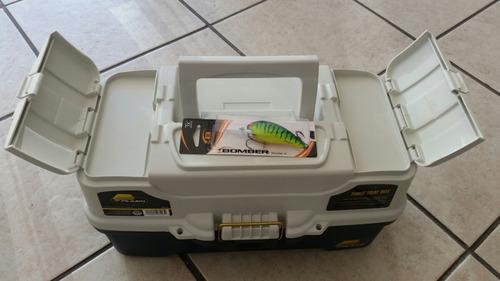 caja pesca plano 3 niveles reforzada
