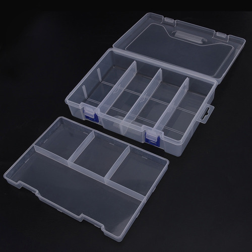caja plástica 230 x 160 x 60 mm