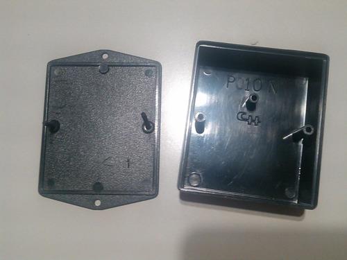 caja plastica negra chillemi p010  85x70x32mm oferta¡¡