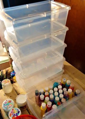 caja plástica organizador zapatos juguetes cocina oferta!!