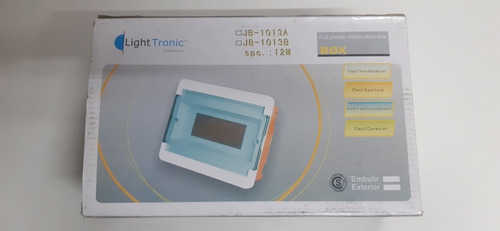 caja plastica para embutir 12 bocas light tronic