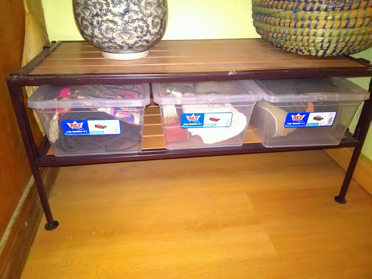 Caja Pl Stica Transparente Apilable Ideal Zapatos 6l Rey 88 50  ~ Cajas Transparentes Para Zapatos