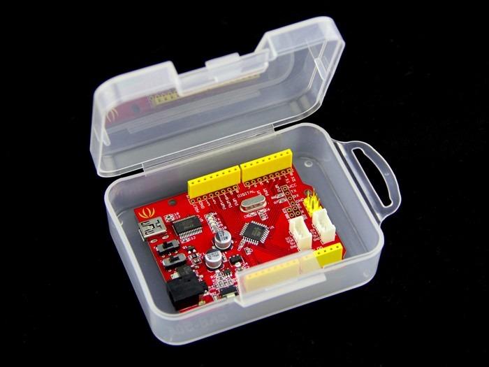 Caja pl stico para guardar shields para arduino - Cajas de plastico para almacenar ...