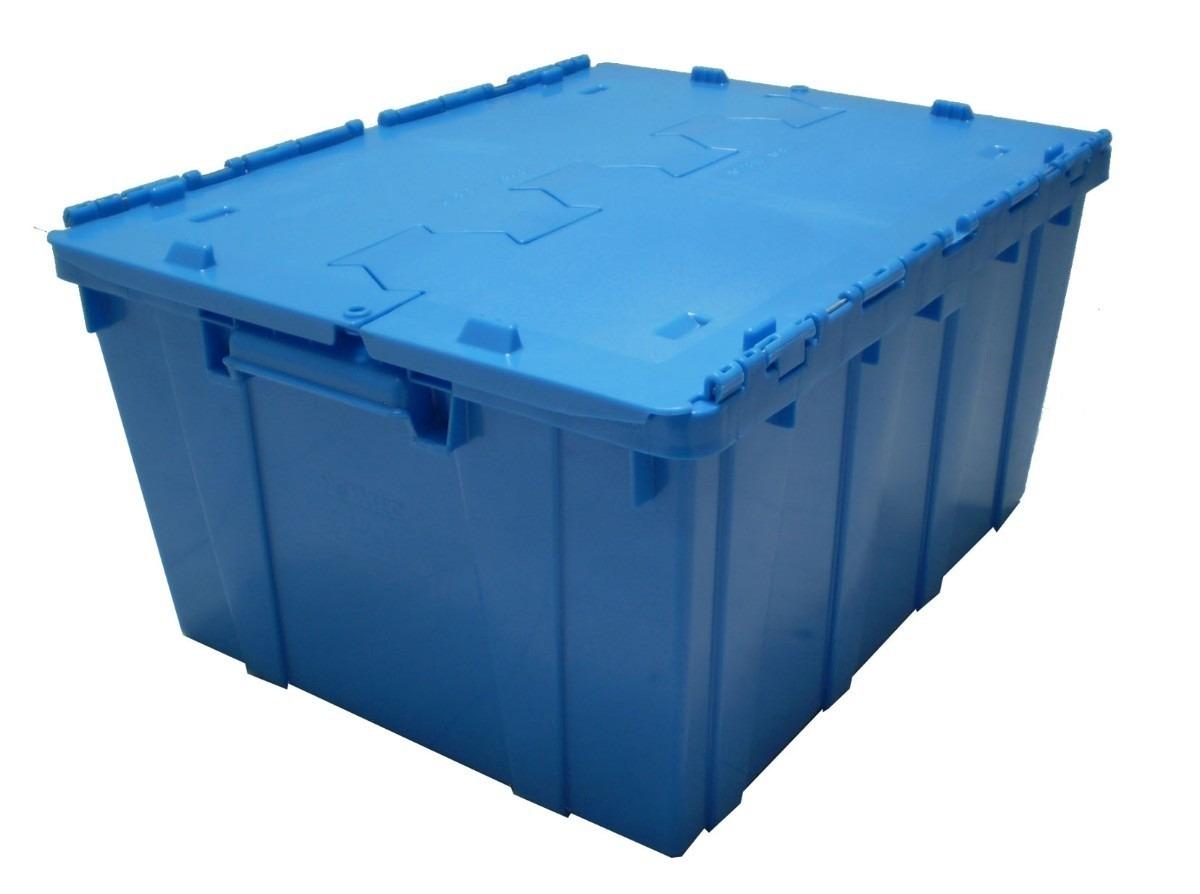 Caja plastico tapa de bisagra en mercado libre for Tapas de plastico
