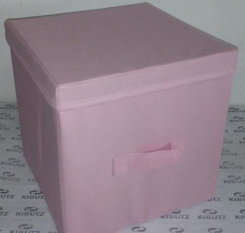 caja plegable organizadora con tapa