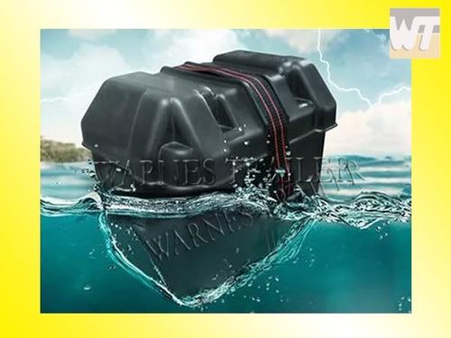 caja porta bateria nautica- para bateria hasta 75 amp m e
