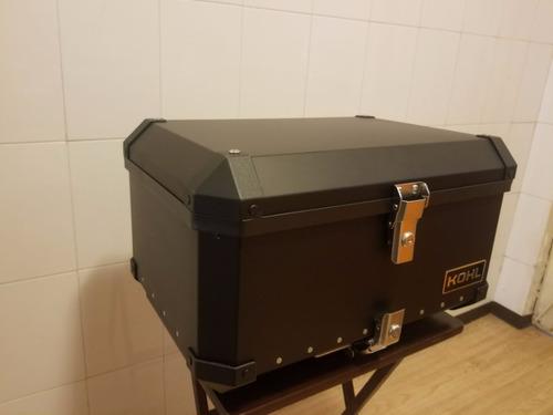 caja porta equipaje kohl 60 lts negro + base rider one