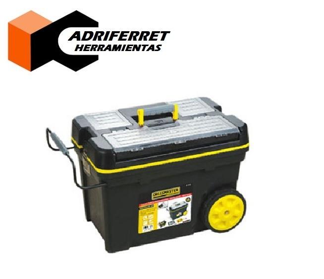 Caja Porta Herramientas Tipo Baul Crossmaster C  Ruedas -   5.390 125e05a0f8b6