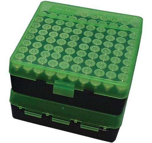 caja porta municiones mtm p-100 9 mm dogo hunter