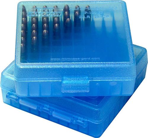 caja porta municiones mtm p-100 calibre 22lr