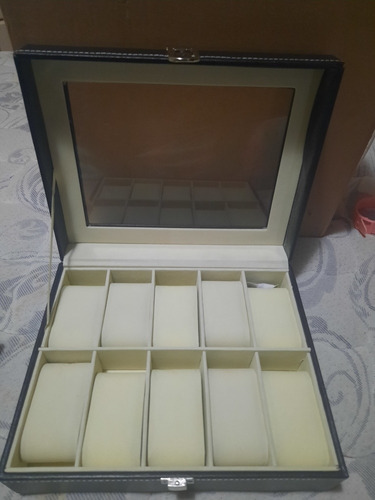caja porta relojes