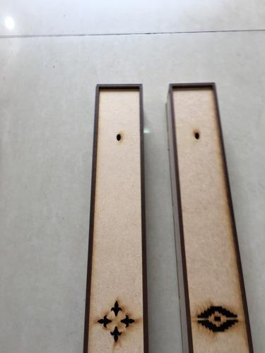 caja porta sahumerios distintos modelos de calado