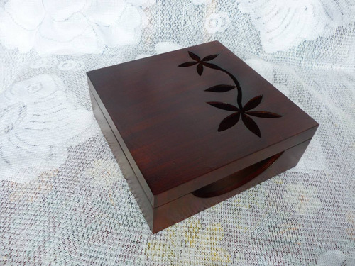 caja porta servilletas lacada