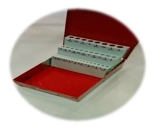 caja portamecha metalica para guardar mechas