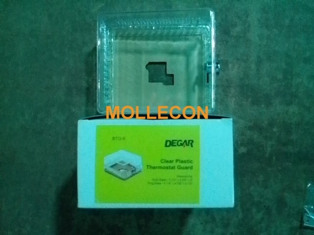 Caja protectora acrilico termostatos aire acondicionado for Caja aire acondicionado