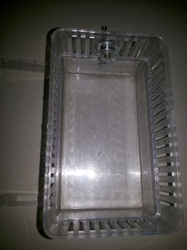 caja protectora para termostato en acrilico translicido