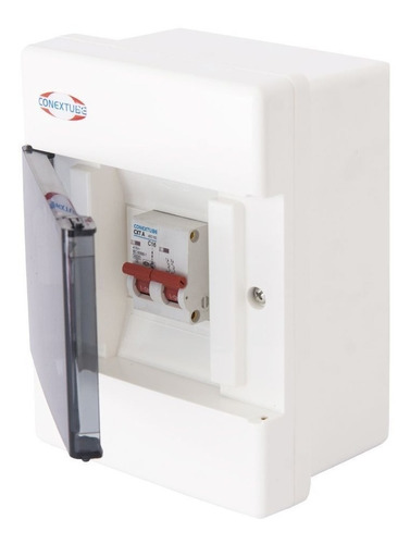 caja p/termicas conextube luxury 4 bocas exterior
