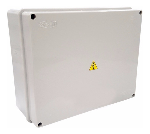 caja pvc 15x15x11 termoplastica ideal cctv color blanco