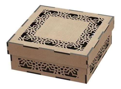 caja recuerdo centro de mesa baul comunión boda bautizo xv