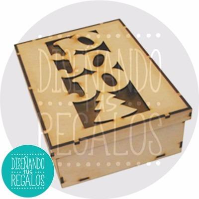 caja regalo pan dulce deco feliz navidad gde .x1u. - nvd-180