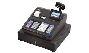 caja registradora alfanumerica sharp xe-a407-dos pantallas