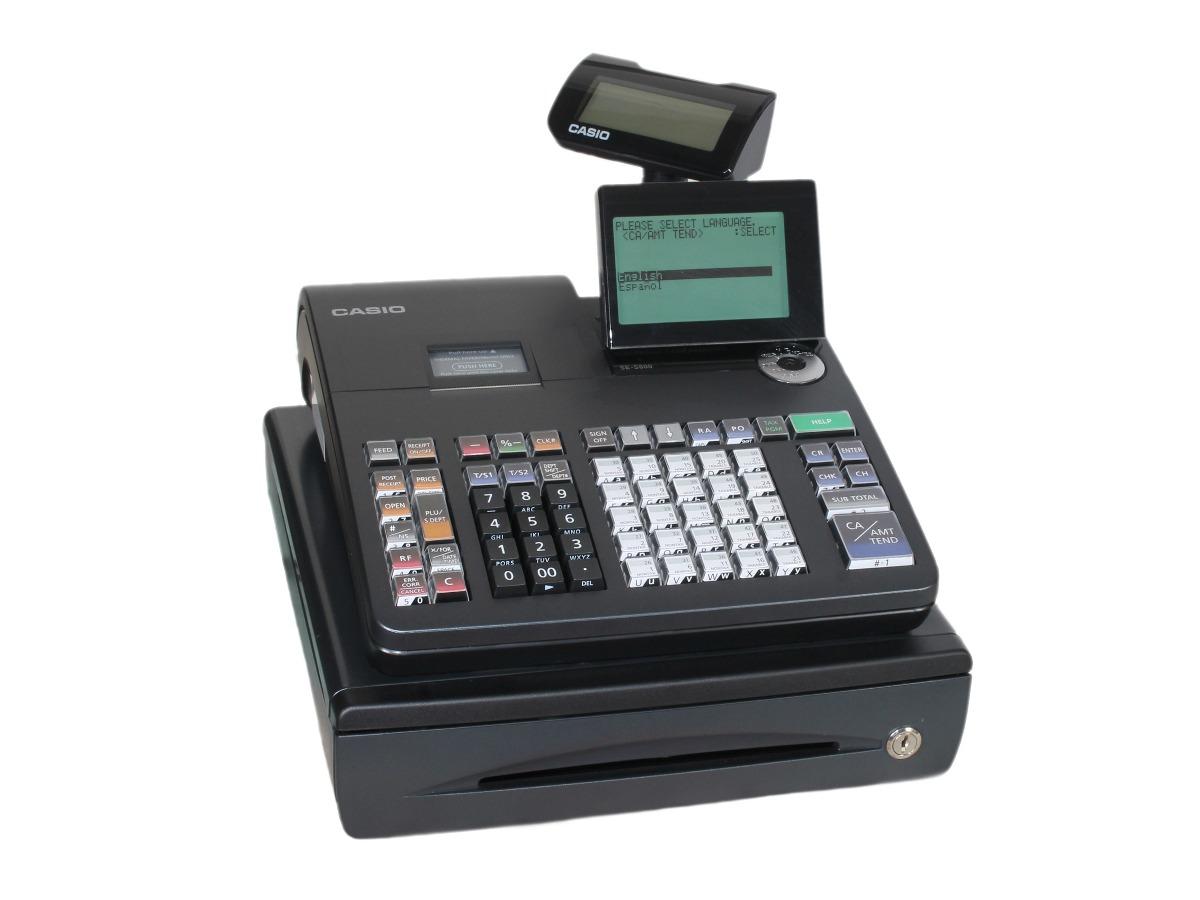 Caja Registradora Casio Se S 800 Alfanumerica Refurbished