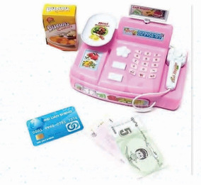 Nena Sonido Caja Luz Juguete Oferta Infantil Registradora Y Pwk80nOX